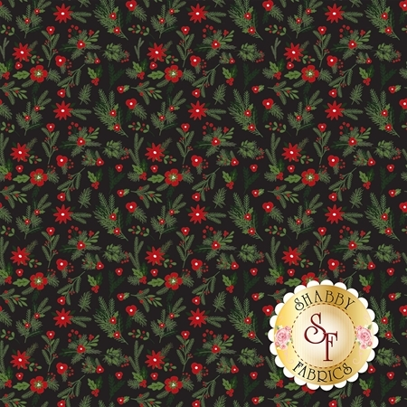 Christmas Delivery C7332-BLACK by Riley Blake Designs