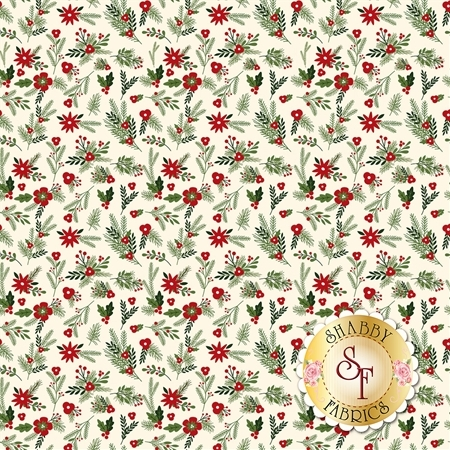 Christmas Delivery C7332-CREAM by Riley Blake Designs