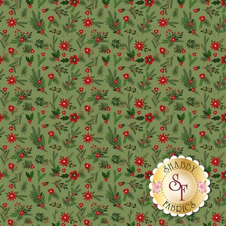Christmas Delivery C7332-GREEN by Riley Blake Designs