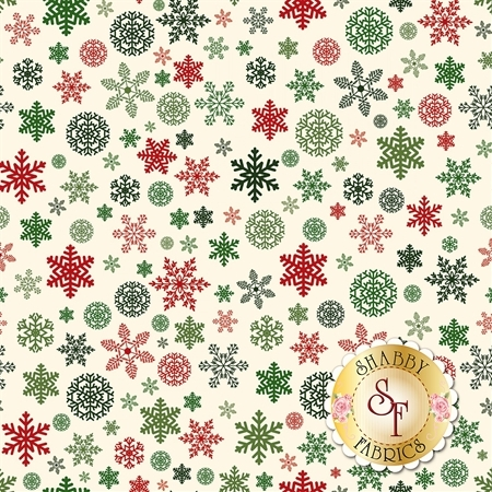 Christmas Delivery C7333-CREAM by Riley Blake Designs