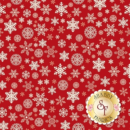 Christmas Delivery C7333-RED by Riley Blake Designs