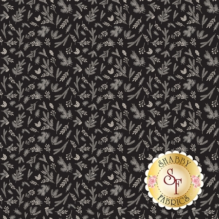 Christmas Delivery C7334-BLACK by Riley Blake Designs