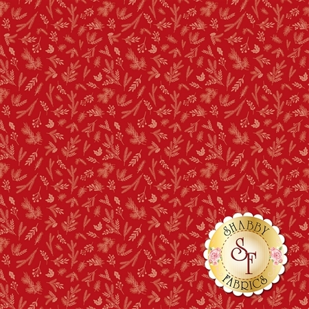 Christmas Delivery C7334-RED by Riley Blake Designs