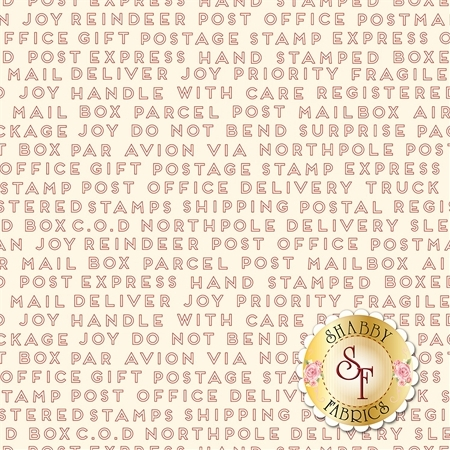 Christmas Delivery C7335-CREAM by Riley Blake Designs