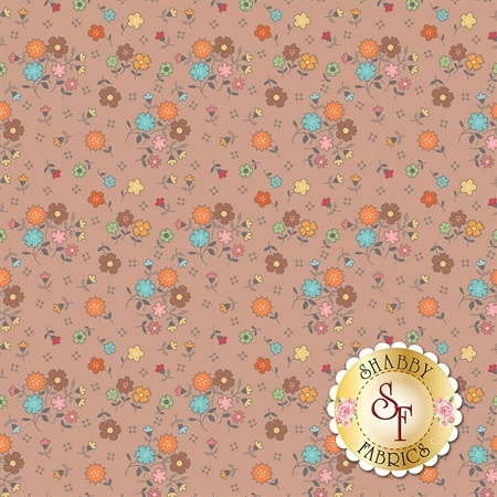 Autumn Love C7360-NUTME by Lori Holt for Riley Blake Designs