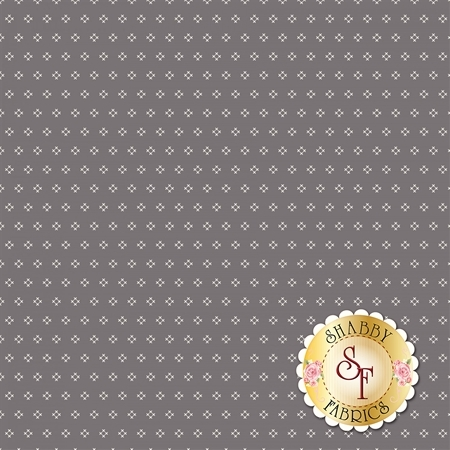 Autumn Love C7365-GRAY by Lori Holt for Riley Blake Designs