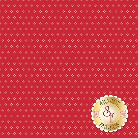 Autumn Love C7365-RED by Lori Holt for Riley Blake Designs