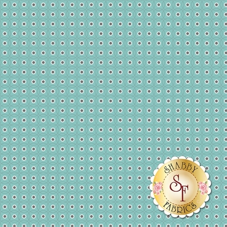 Autumn Love C7370-BLUE by Lori Holt for Riley Blake Designs