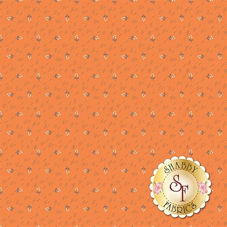 Autumn Love C7371-ORANG by Lori Holt for Riley Blake Designs