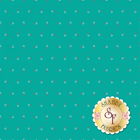 Autumn Love C7371-TEAL by Lori Holt for Riley Blake Designs