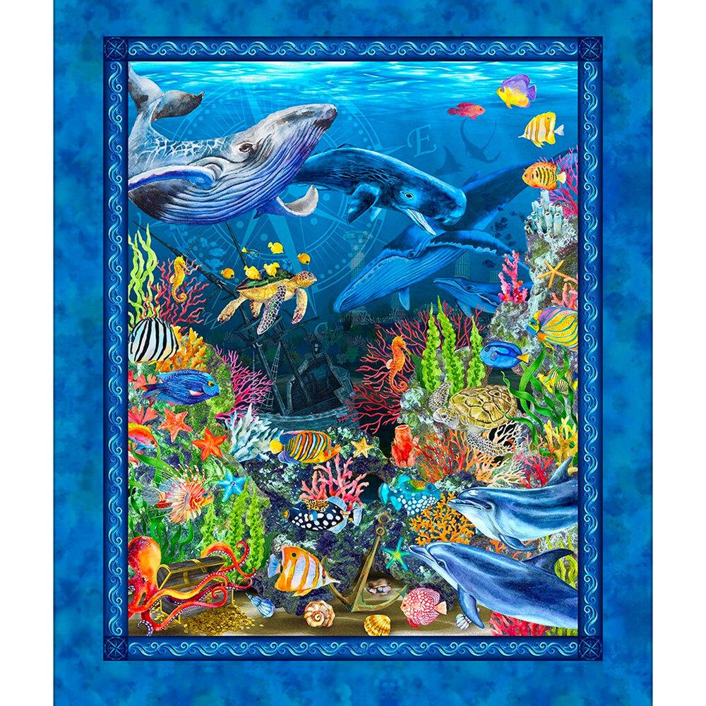 The blue Calypso II panel