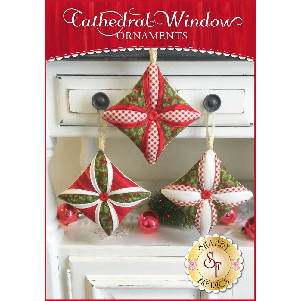 Cathedral Window Ornaments Pattern