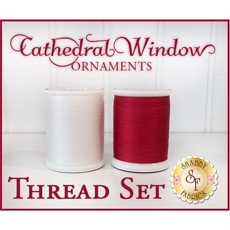 Cathedral Window Ornaments - 2pc MasterPiece Thread Set