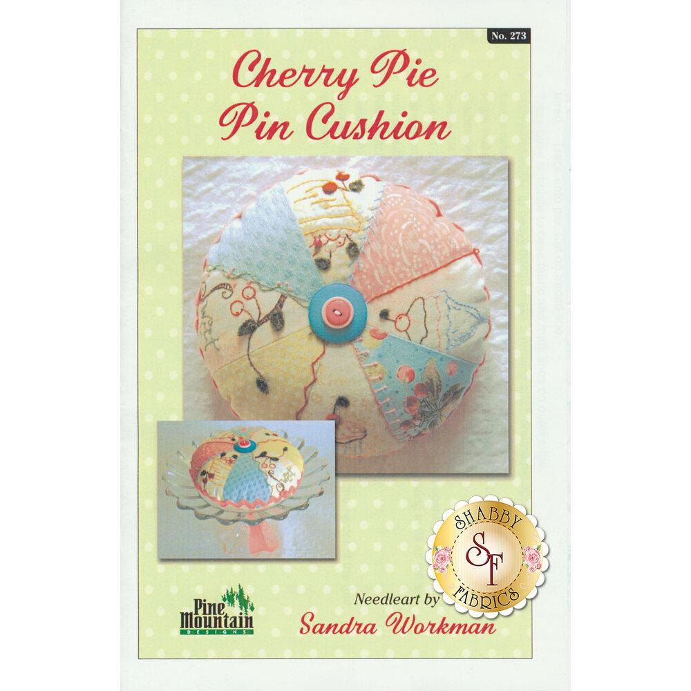 Christmas Pie Pin Cushion Pattern available at Shabby Fabrics