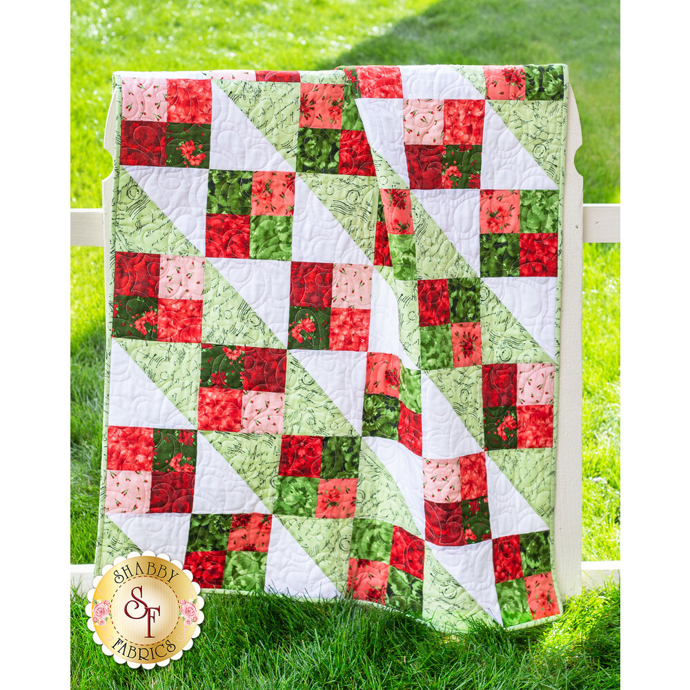 Four Square Pre-Cut Quilt Kit - Chloe from Maywood Studio