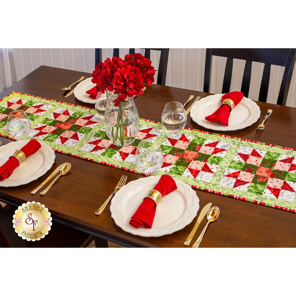Sister's Choice Table Runner Pre-Cut Kit - Chloe from Maywood Studio