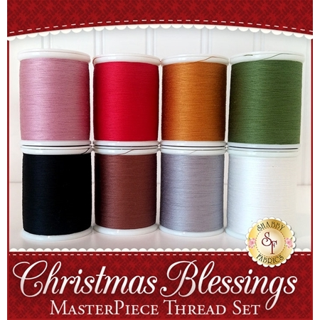 Christmas Blessings BOM - 8pc MasterPiece Thread Set