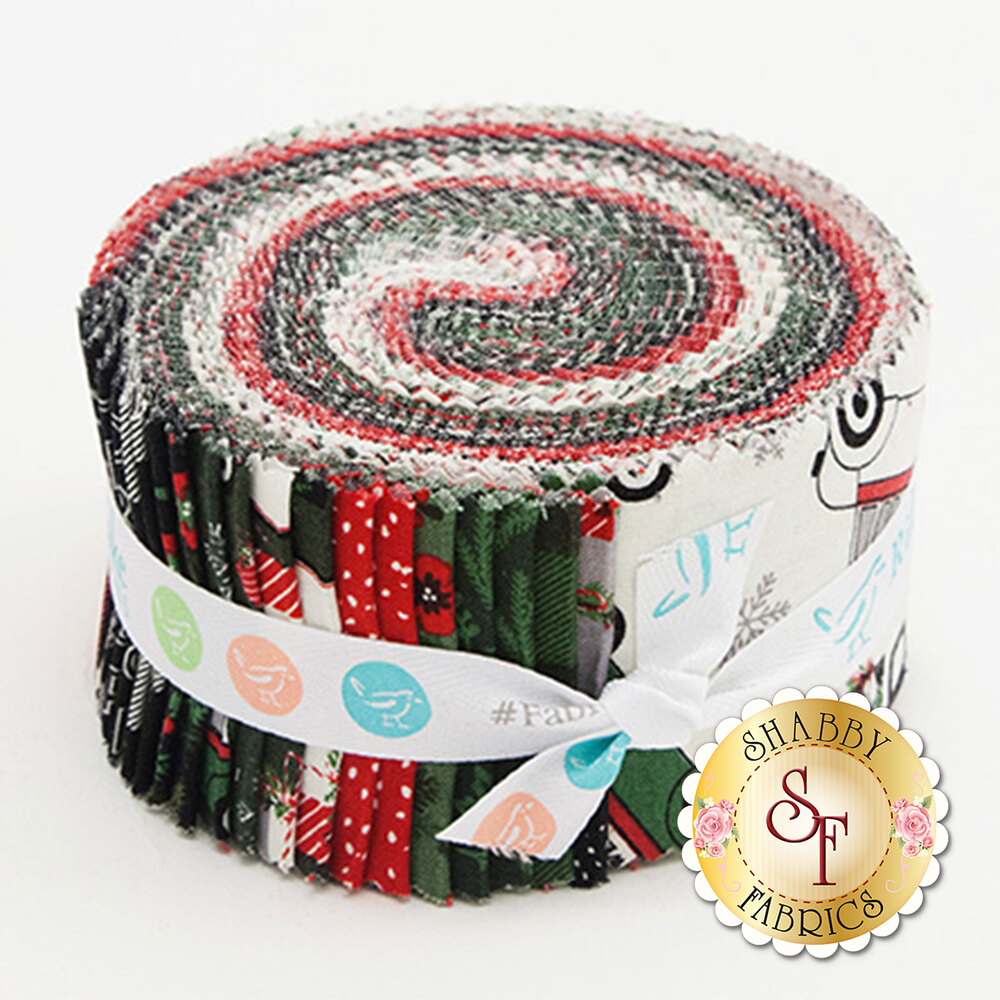 Christmas Delivery  Rolie Polie from Riley Blake Designs