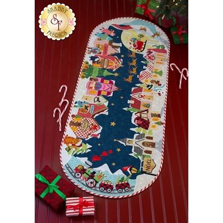 Christmas Eve Table Runner Pattern