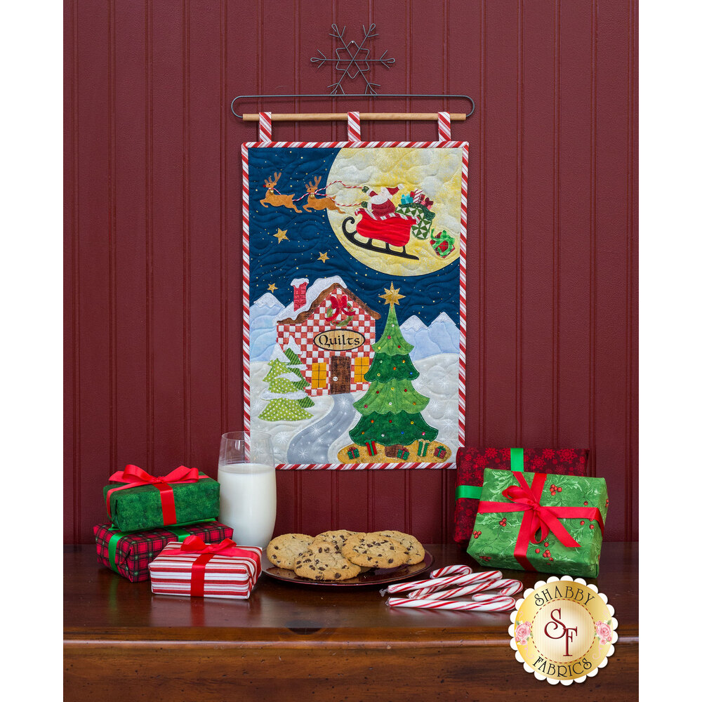 Christmas Eve - Wall Hanging - Laser-Cut Kit