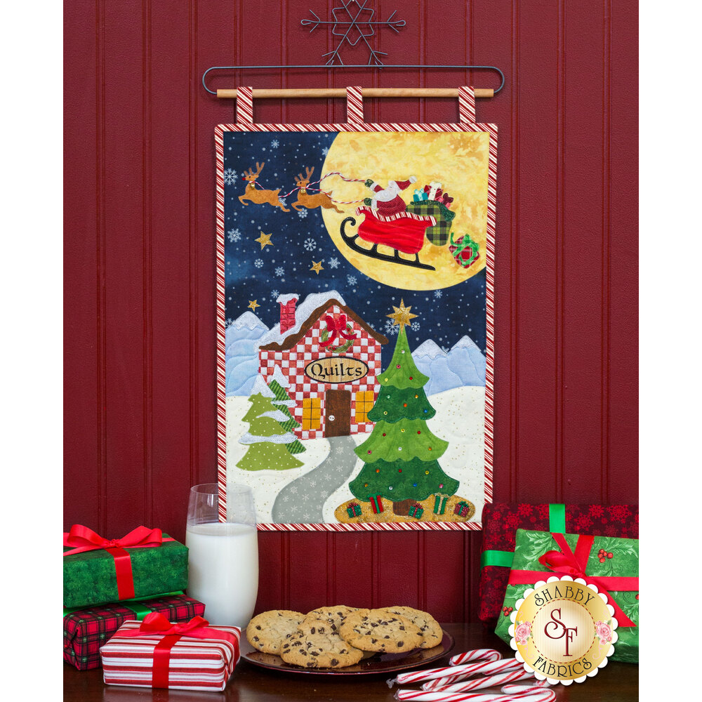 Christmas Eve - Wall Hanging - Pattern