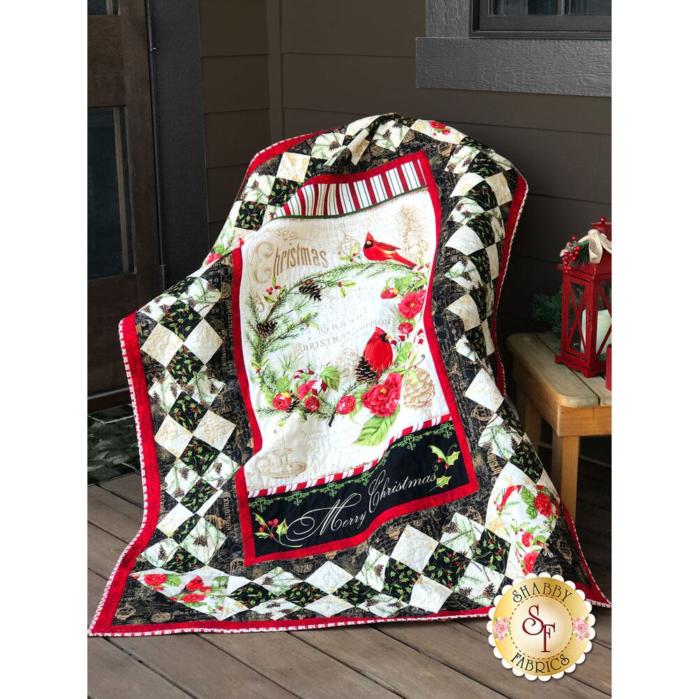 Christmas In The Wildwood - Wall Quilt Kit