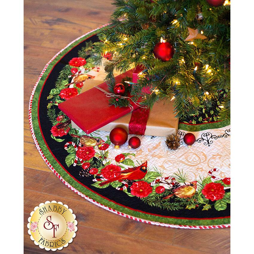 Christmas In The Wildwood - Tree Skirt Kit