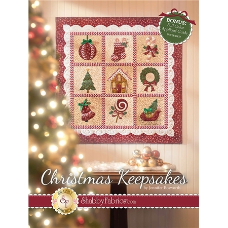 Christmas Keepsakes Book by Jennifer Bosworth of Shabby Fabrics