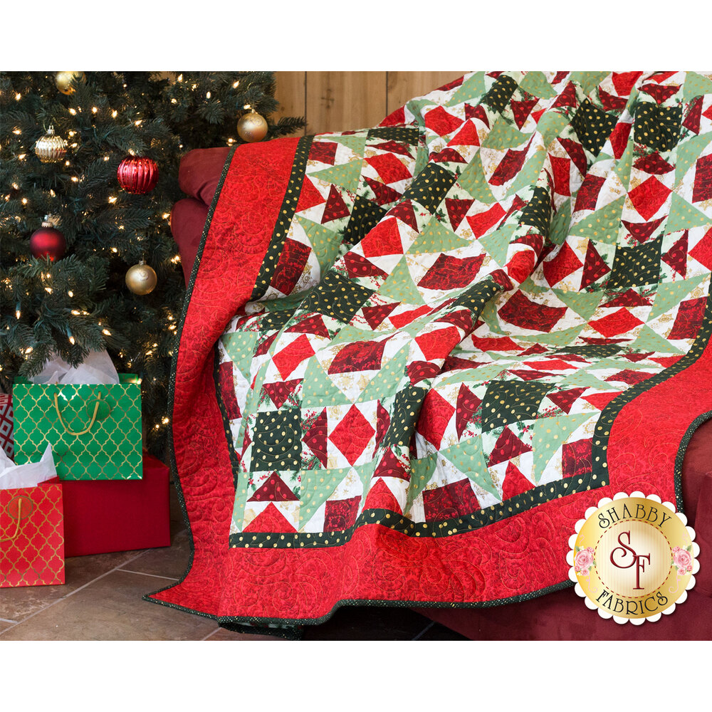 Christmas Tiramisu Quilt Kit