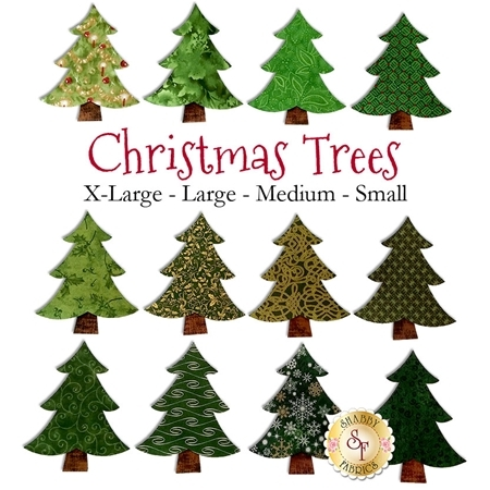 Laser-Cut Christmas Trees - 4 Sizes Available!
