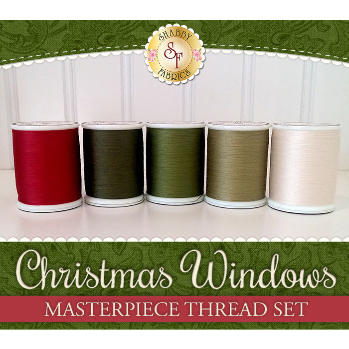 Christmas Windows BOM - 5pc MasterPiece Thread Set