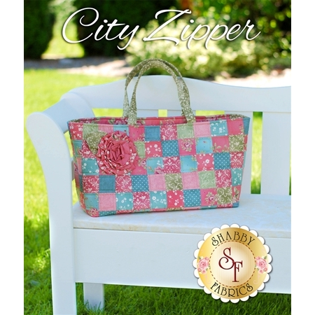 City Zipper Tote Pattern