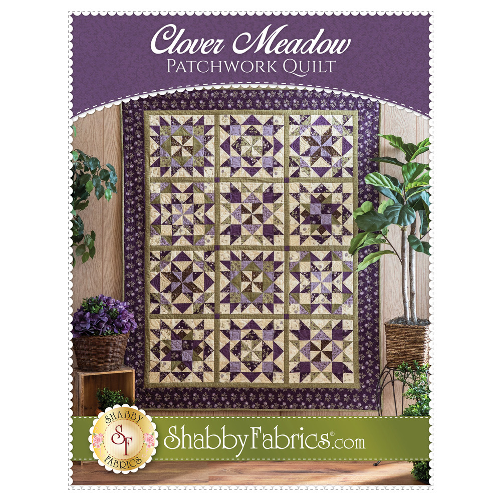 The front of the Clover Meadow BOM Pattern