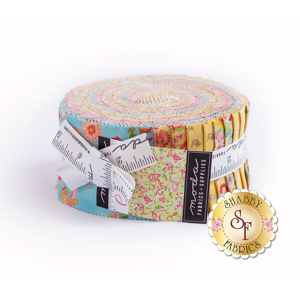 Coco Jelly Roll from Moda Fabrics by Chez Moi