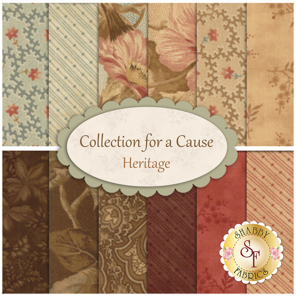 Collection for a Cause - Heritage  Yardage by Moda Fabrics