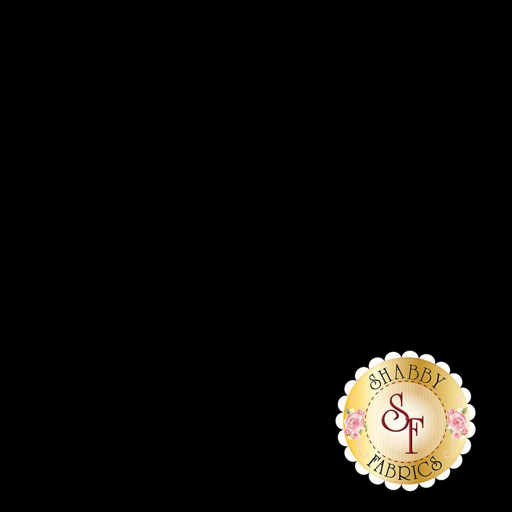 Solid black fabric | Shabby Fabrics