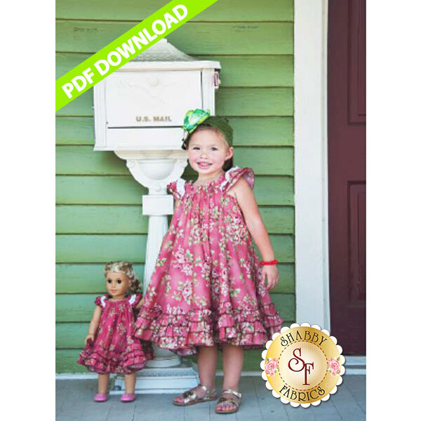 The Handmaiden's Cottage Swing Dress - PDF DOWNLOAD