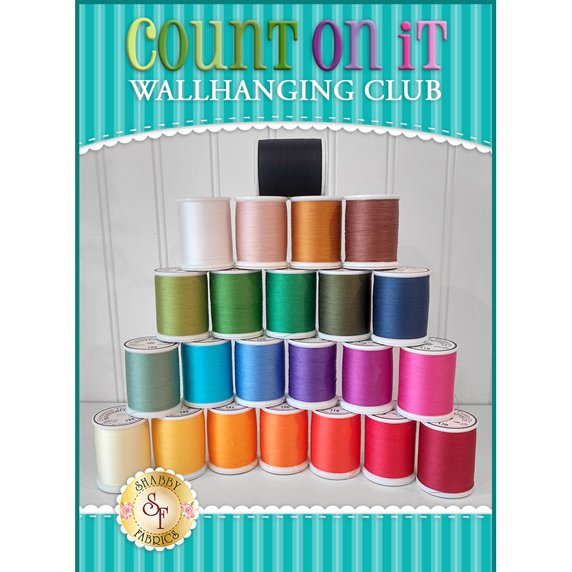 Count On It Wall Hanging Club - 23pc. Masterpiece Thread Set