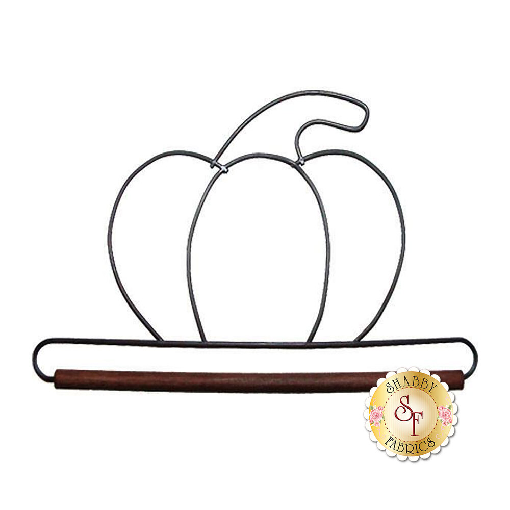 Craft Holder - Pumpkin - 6""