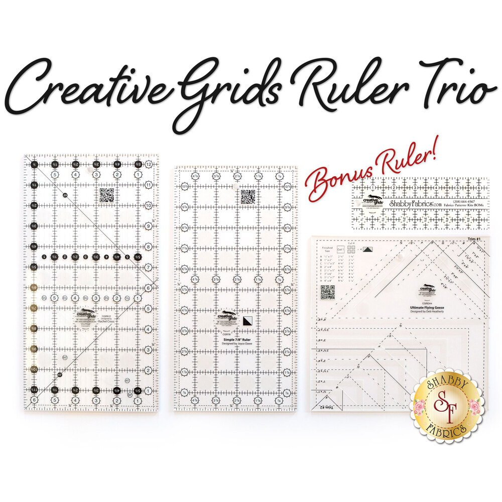 Creative Grids Ruler Trio