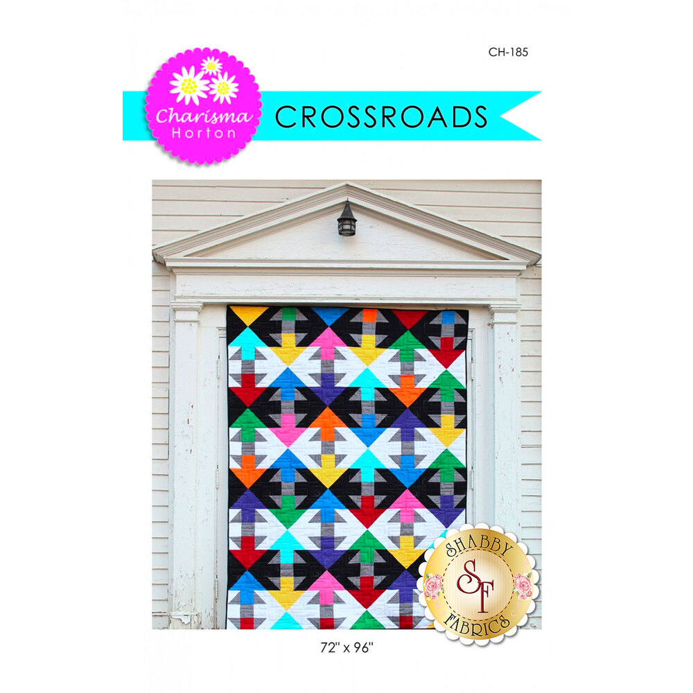 Front of the Crossroads pattern by Charisma Horton | Shabby Fabrics