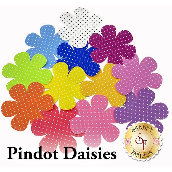 Laser-Cut Pindot Daisies - 4 Sizes Available!