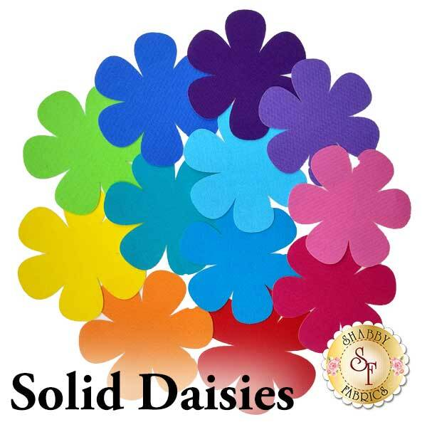Laser-Cut Solid Daisies - 4 Sizes Available!