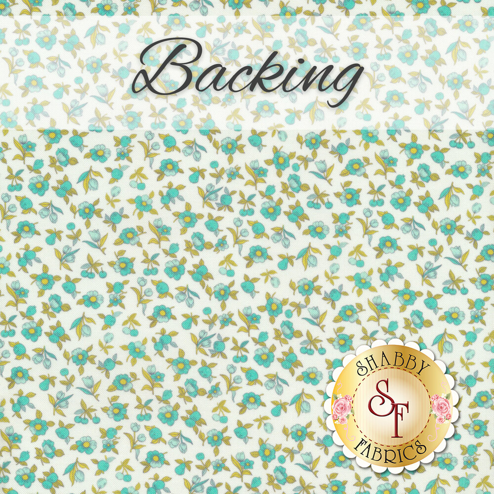Disappearing Nine-Patch Quilt - Flour Garden - Backing - 4 yds   Shabby Fabrics