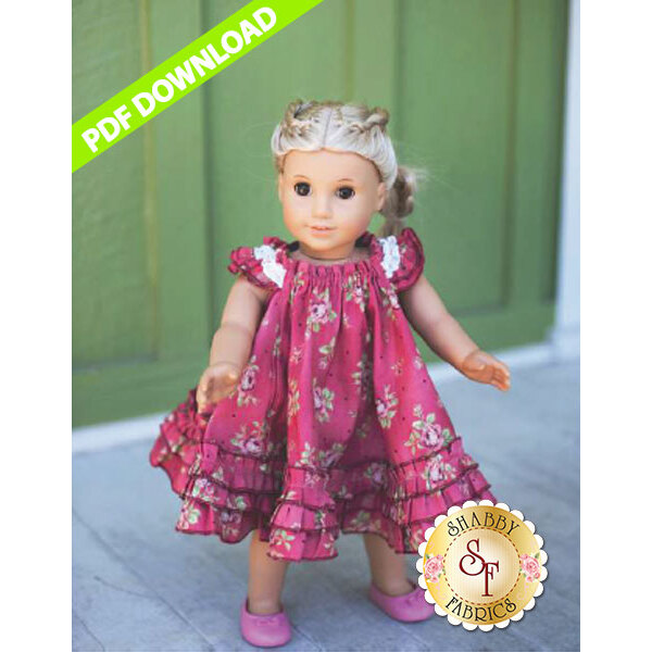 Dolly Swing Dress - PDF DOWNLOAD