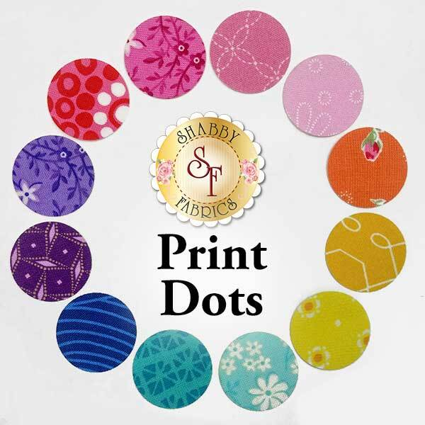 Laser-Cut Print Dots - 4 Sizes Available!