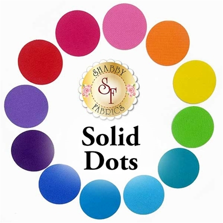 Laser-Cut Solid Dots - 4 Sizes Available!