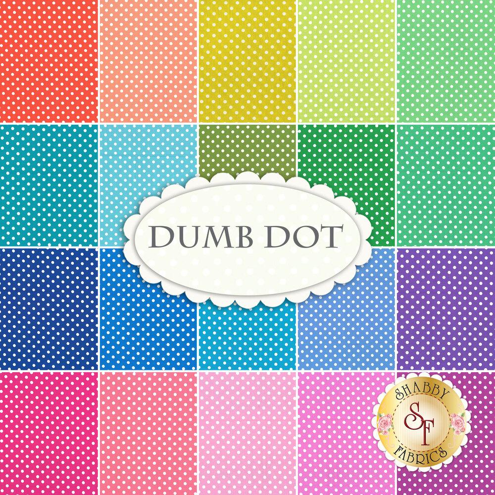Dumb Dot  20 FQ Set by Michael Miller Fabrics at Shabby Fabrics