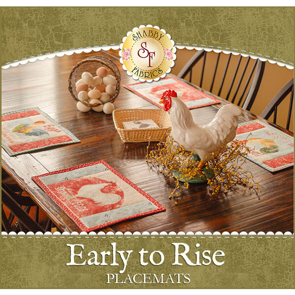 Early to Rise Placemats Kit - Makes 4!