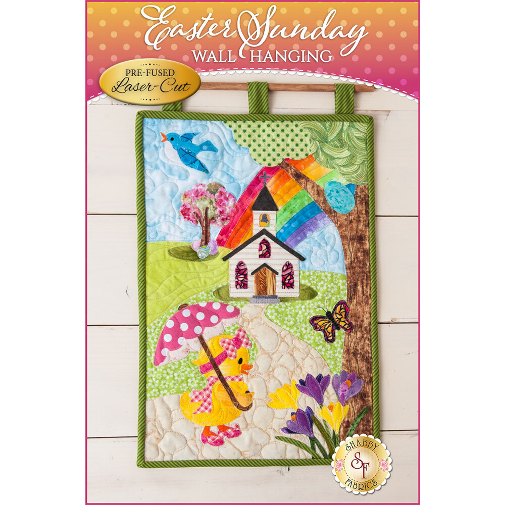 Easter Sunday Series Wall Hanging Kit - Pre-Fused/Laser-Cut